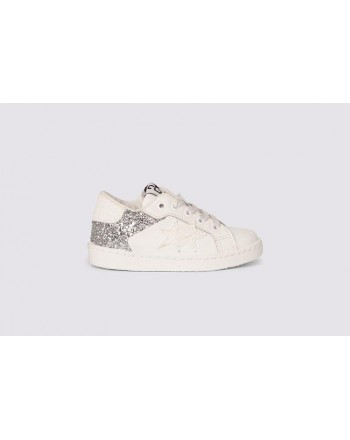2 STAR - Sneakers 2SB2019  White/Silver