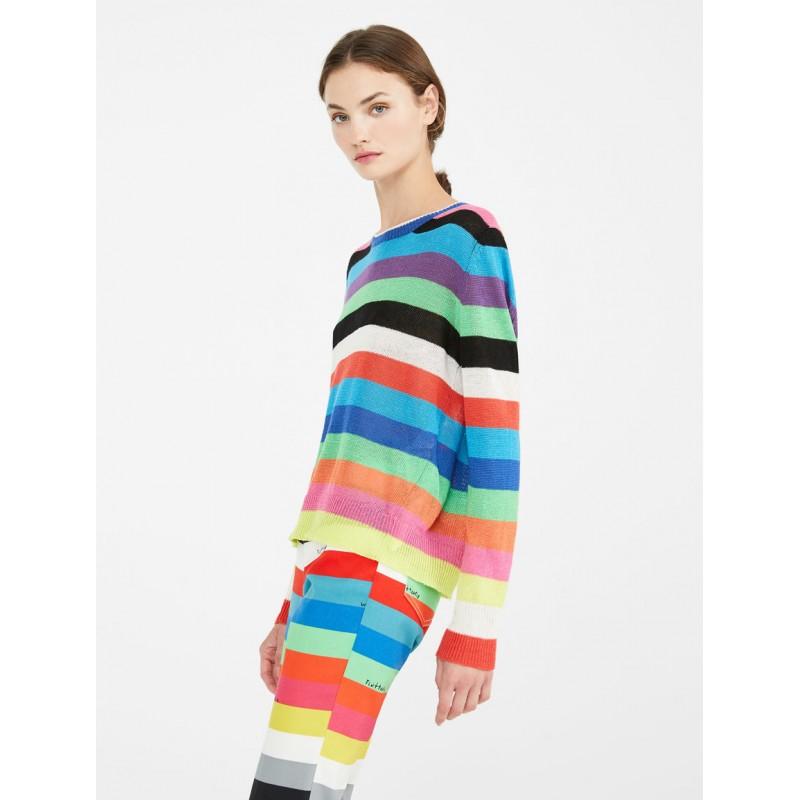WEEKEND MAX MARA - TEIERA Cotton  Knit - Multicolor