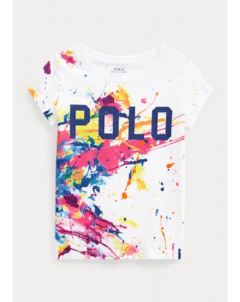 POLO KIDS - T-Shirt Basic- Paint Splash -