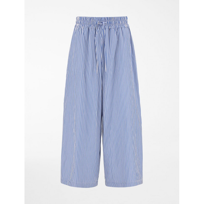 WEEKEND MAX MARA -  Cotton Trousers LINFA- Fiordaliso