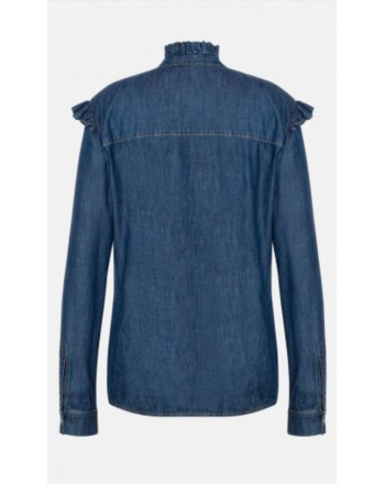 PHILOSOPHY - Camicia in chambray Liz - Denim