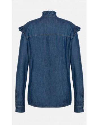 PHILOSOPHY - Chambray shirt Liz - Denim
