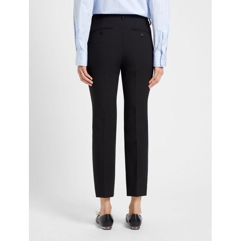 WEEKEND MAX MARA -  RANA -Viscose Trousers - Black