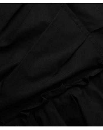 PHILOSOPHY - Vestito corto drappeggiato - Nero