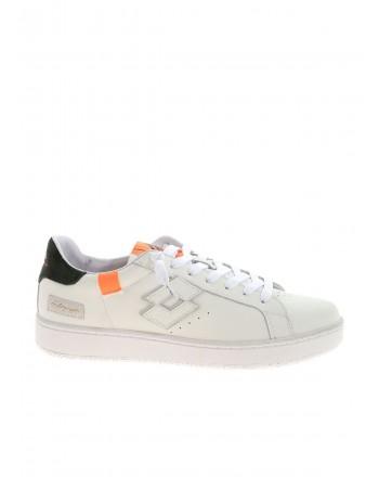 LOTTO LEGGENDA - AUTOGRAPH BLOCK Sneakers - White/Orange