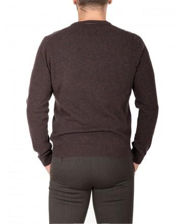 ERMENELGILDO ZEGNA - Cashmere round-neck sweater - Brown