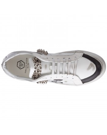 2 STAR - Sneakers 2S3062 Silver 4,5 cm Platform