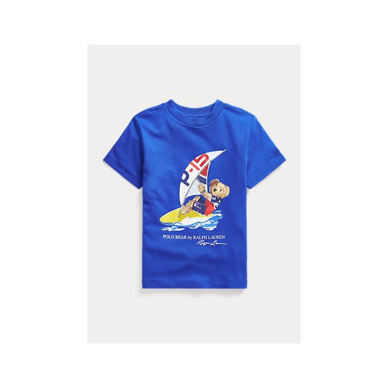 POLO KIDS - T-Shirt Surf Bear -Royal -