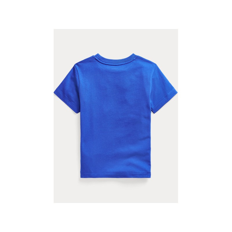 POLO KIDS - T-Shirt Orso Surf - Royal -