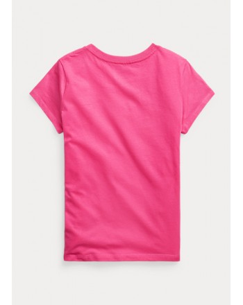 POLO KIDS - T-Shirt Basic - Fuxia -