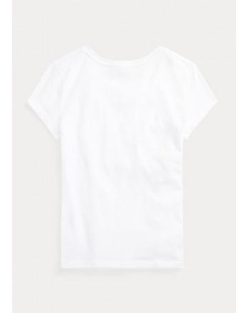 POLO KIDS - T-Shirt Basic - Bianco -