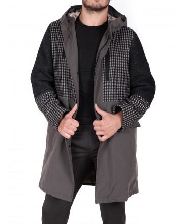 ETRO - Cotton Parka Jacket - Grey