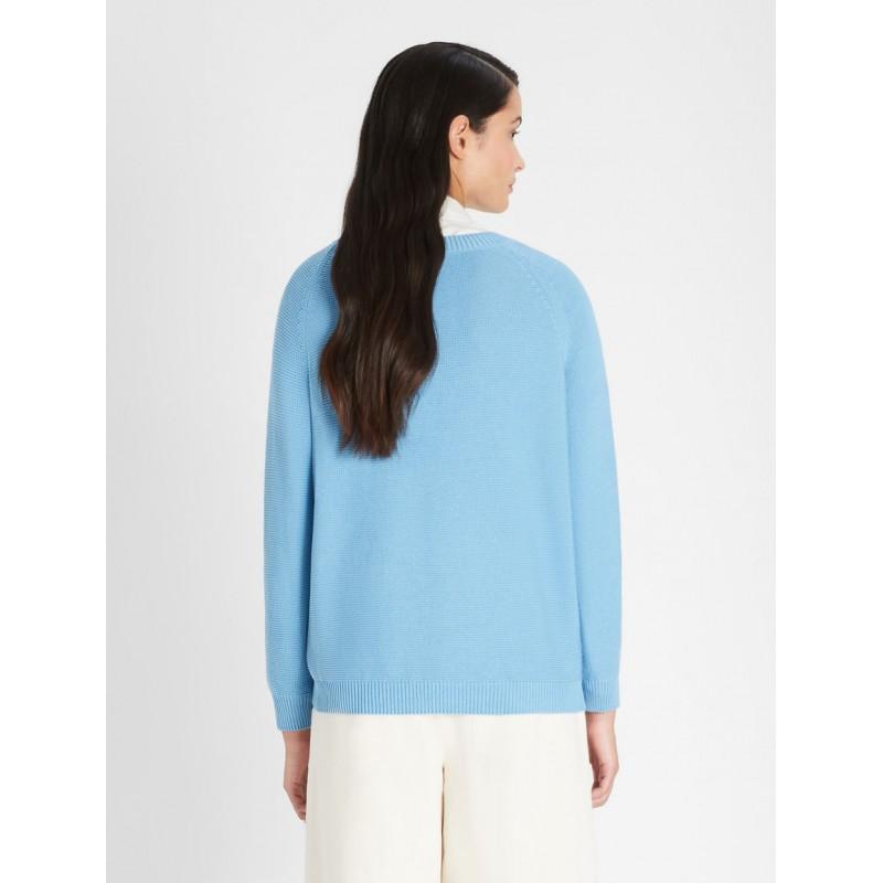 WEEKEND MAX MARA -  MULTIA Cotton Jersey T-Shirt - Black