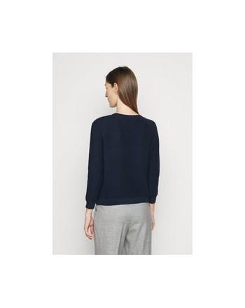 WEEKEND MAX MARA - PIROGA Cotton Knit -  Blue