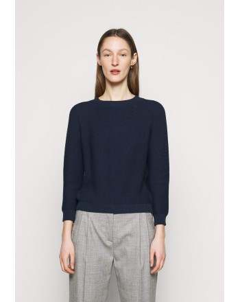 WEEKEND MAX MARA - MULTIB  Cotton T-Shirt -Black