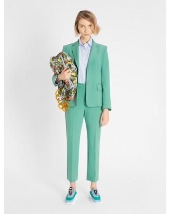 WEEKEND MAX MARA -  RANA -Viscose Trousers - Cabbage