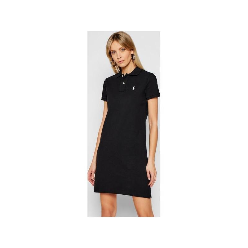 POLO KIDS - Basic Polo Dress - Black -