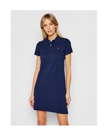 POLO RALPH LAUREN  - Basic Polo Dress - Blue -