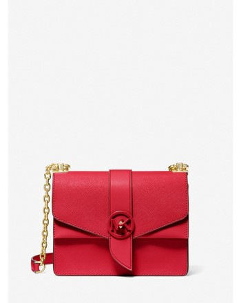 MICHEL BY MICHAEL KORS - GREENWICH Leather Bag - Bright Red