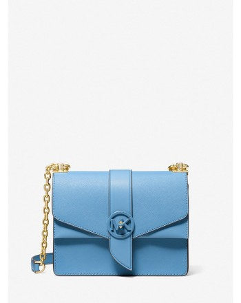 MICHEL BY MICHAEL KORS - GREENWICH Leather Bag - South Pacific