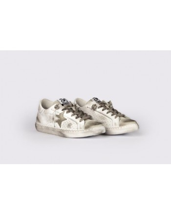 2 STAR - Sneakers 2S3025  White/Grey