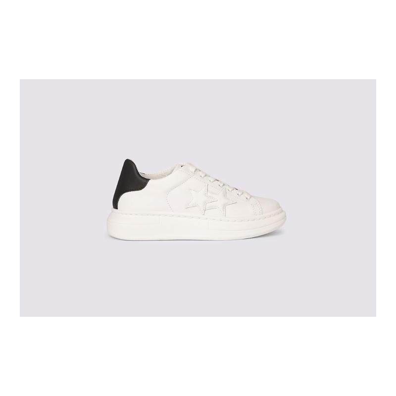 2 STAR - Sneakers 2S2879 Black/White