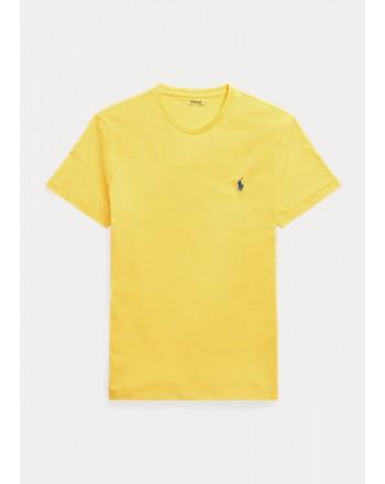 POLO RALPH LAUREN  - T-Shirt Custom Slim Basic - Racing Yellow