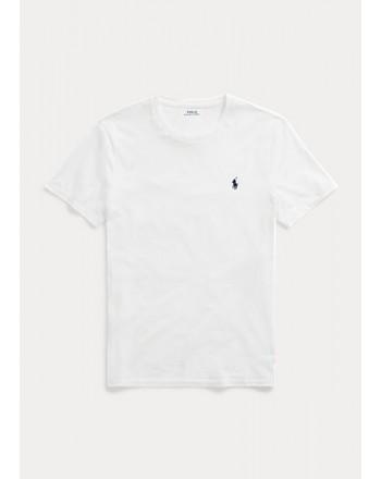 POLO RALPH LAUREN  - T-Shirt Custom Slim Basic - White