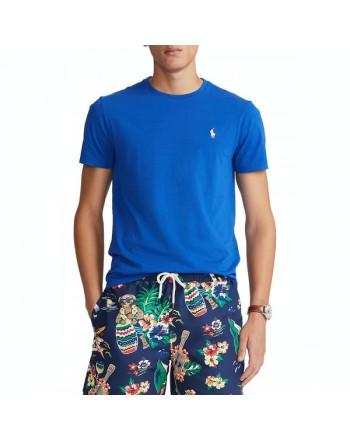 POLO RALPH LAUREN  - T-Shirt Custom Slim Basic - Sapphire Star