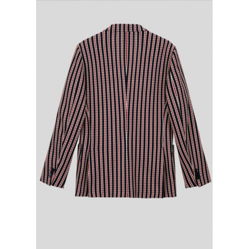 ETRO - Giacca in jersey armaturato - Rigato
