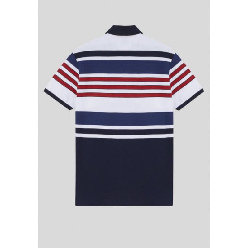 ETRO - Large striped cotton polo shirt - Fantasy