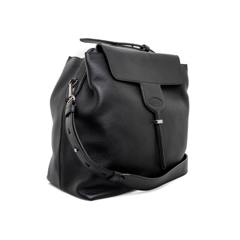TOD' S - JOY Leather Bag - Black