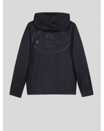 ETRO - Jacquard nylon jacket - Black