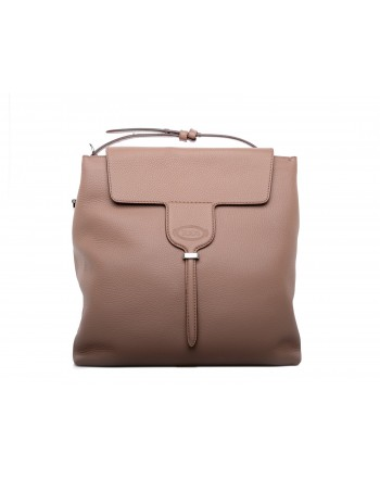 TOD' S - JOY Leather Bag - Brown
