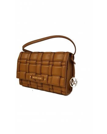 MICHAEL by MICHAEL KORS - CLUTCH Crossed Leather Bag - Luggage