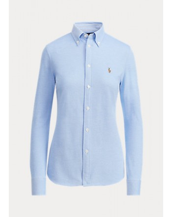POLO RALPH LAUREN  - Jersey Slim Fit Shirt - Harbor Island -