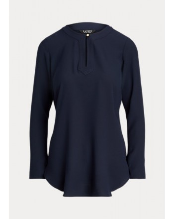 POLO RALPH LAUREN  - Georgette Shirt - Blue -