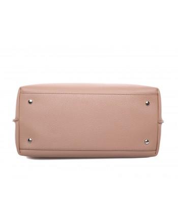 TOD'S - Two-tone Shopping bag - Brown/Black