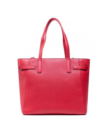MICHAEL by MICHAEL KORS - Borsa Shopping in Pelle CARMEN - Bright Red