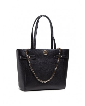 MICHAEL by MICHAEL KORS - Borsa Shopping in Pelle CARMEN -Nero