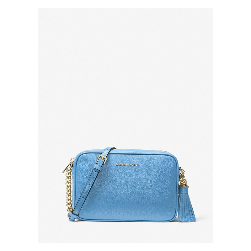 MICHAEL by MICHAEL KORS - Borsa  a Tracolla GINNY in Pelle   - South Pacific