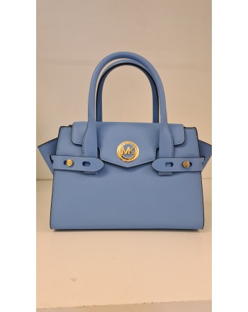 MICHAEL by MICHAEL KORS - Borsa in Pelle Saffiano CARMEN - South Pacific