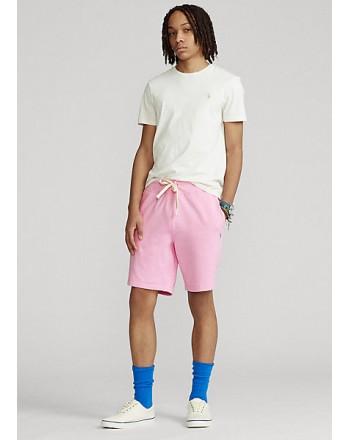 POLO RALPH LAUREN  -  Fleece Bermuda  Shorts - Carmel Pink -