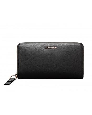 CALVIN KLEIN - Leather Wallet - Black