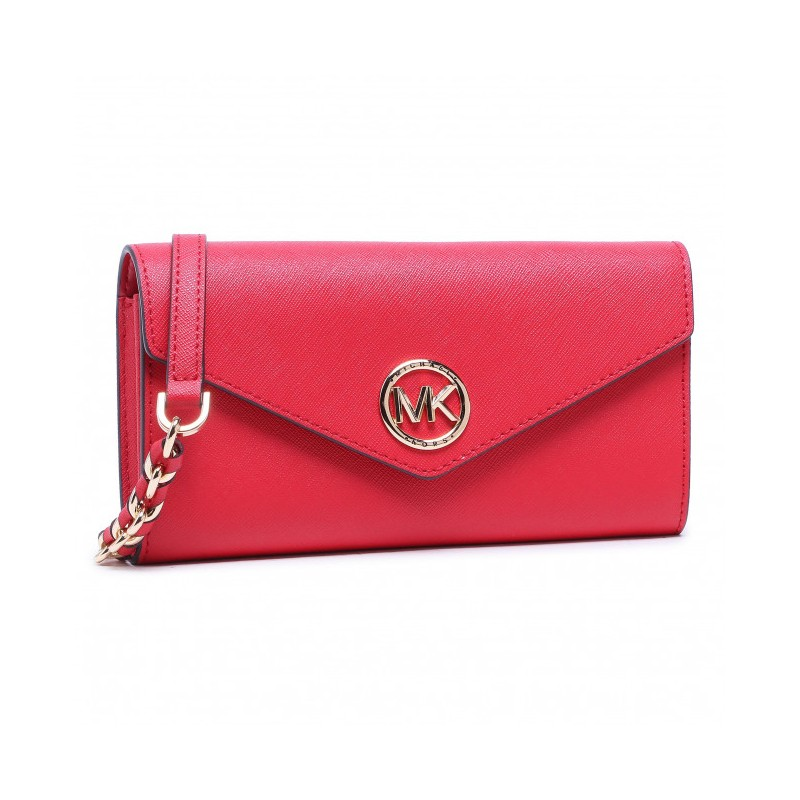 MICHAEL BY MICHAEL KORS - CARMEN XBody Saffiano Leather Bag - Bright Red