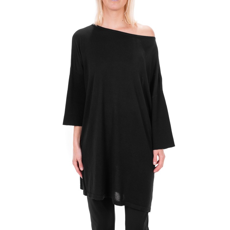 MAX MARA STUDIO - GENARCA sweater in pure new  wool - Black