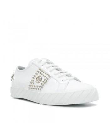 PHILIPP PLEIN - Studs Sneakers - White