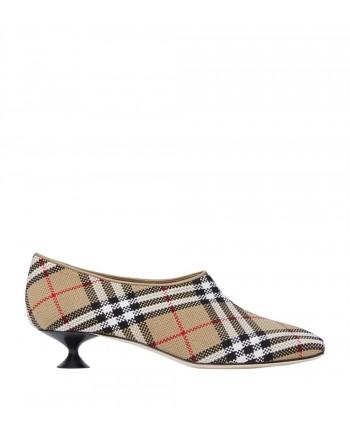 BURBERRY - Vintage Check Square-Toe Tacco 35 - Beige