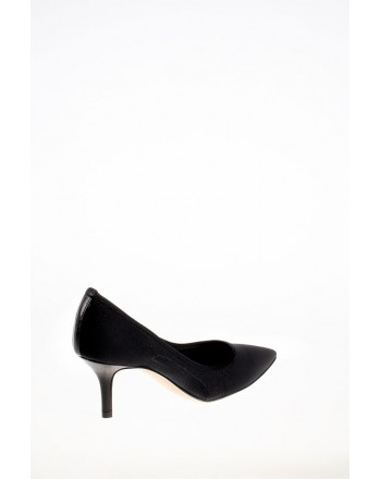GUGLIELMO ROTTA - Elastic Fabric Pumps - Black