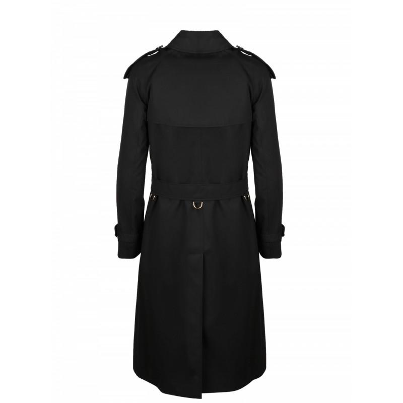BURBERRY - Long Trench Coat - Nero -